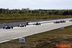 Årets STCC-premiär kördes på Skövde flygplats.