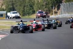 SSK-Serien på Kinnekulle Ring med Formel Renault.