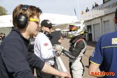 Newsrace på Ring Knutstorp med STCC.